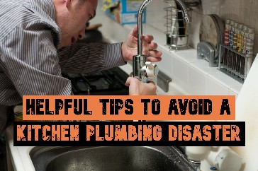 kitchen plumbing disaster