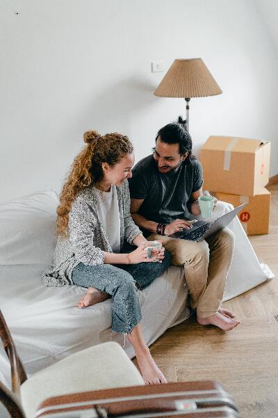 declutter before relocation - 2 people relocation