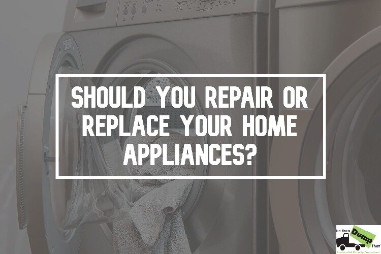 Should You Repair or Replace Your Home Appliances?